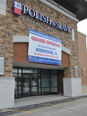 Newly opened PSFCU branch in Norridge, IL